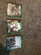 Xbox One Game Bundle Black Ops 3 Plants Vs Zombies Gw2 Assassins Creed Unity