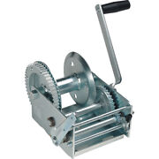 Fulton 142430 2-speed Hand Winch W/o Strap And W/o Brake 3700 Lbs Replaces T37000