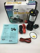Flojet 18555000a Portable Rv Waste Water Pump 12v Dc 18555000 W/ Carrying Case