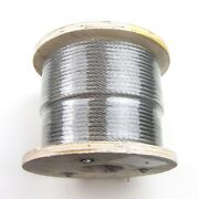 500ft Stainless Steel Type 316 Cable 7x19 3/16 - Wire Rope