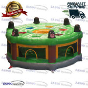 20ft Commercial Inflatable Human Whack A Mole Bouncy Play Game With Air Blower