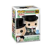 Funko Pop Mr Monopoly With Money Bag Limited Shop Exclusive Board Games