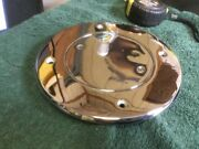 """Perko Nickel Plated Brass 4""""id Boat Cowl Vent Base With Cap"""