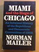 Miami And The Siege Of Chicago Mailer 1st Printing 1968 World Publishing Company
