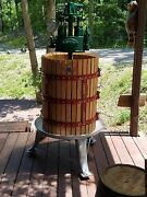Large Wine Press From Italy - Wine Cider Fruit Apple - Heavy Duty