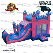 20x10ft Commercial Bounce House And Bouncer Slide Wet / Dry With Air Blower