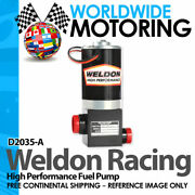 D2035-a High Performance Fuel Pump Up 1400 Hp To 2400hp Plus By Weldon Racing