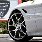 22 Gianelle Dilijan Silver Concave Wheels Rims Fits Cadillac Cts V Coupe