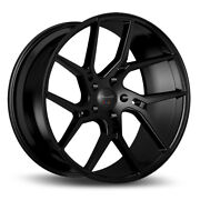22 Gianelle Dilijan Black Concave Wheels Rims Fits Cadillac Cts V Coupe
