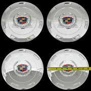 Fits 07-14 Cadillac Escalade Chrome 22 Wheel Center Hub Caps Hubs Rim Covers Rc