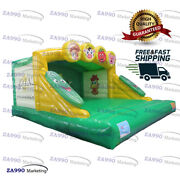 16x16ft Commercial Inflatable Farm Bounce House Jumping Castle With Air Blower