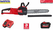 Milwaukee M18fchs-121b Battery Chain Saw Including Battery And Charger- 4933464224