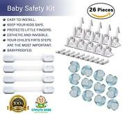 26 Pcs Cabinet Locks Baby And Child Safety Baby Set For The Entire House New