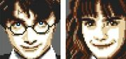 Lego Harry Potter And Hermione Granger Mosaic New Free 5 Days Usa Shipping