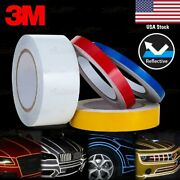 3/8 9/16 1 2 Reflective Self Adhesive Pinstripe Vinyl 3m Decal Tape Stickers
