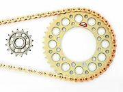 Renthal And Ek Srx2 Chain And Sprocket Kit 15/50 03 04 05 Yzfr6 R6 06 07 08 09 R6s