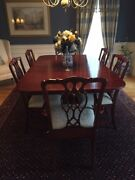 Hitchcock Cherry Dining Room Set W/6 Chairs And Sideboard-excellent Condition-