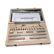 Steel Gauge Block Kit 122 Pcs Class 0 With Wooden Box For Precision Lengths