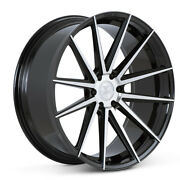 24 Ferrada Ft1 Machined Concave Wheels Rims Fits Ford Raptor - Set Of 4