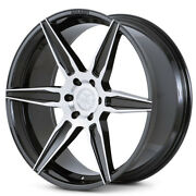 22 Ferrada Ft2 Machined Concave Wheels Rims Fits Ford F-150