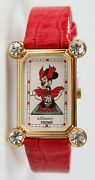 Extremely Rare Disney Minnie Mouse Monroe Watch By Pedre. New And Unworn