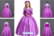 Deluxe Girls Kidand039s Womenand039s Rapunzel Sofia The First Princess Book Week Costume