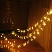 Led Stars String Light New Year Garland Christmas Lights For Party Decoration