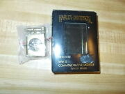 New Old Stock Harley Davidson Motorcycles Solid Brass Wwii Commemorative Lighter