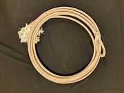 1-used Lariat Western Cowboy Rope Decor Team Rope Lasso Rodeo Free Shipping