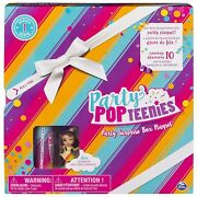 Party Popteenies - Rainbow Unicorn Party Surprise Box Playset With Confett