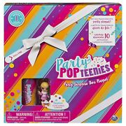 Party Popteenies - Cutie Animal Party Surprise Box Playset With Confetti
