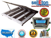 Ntep 48 X 48 4and039 Industrial Lift-up Top Stainless Steel Washdown Floor Scales