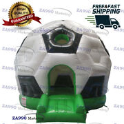 16x16ft Commercia Inflatable Soccer Bouncy House Castle Bouncer With Air Blower