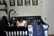 3 Piece Star Wars Baby Bedding Quilt Sheet Baby Mobile