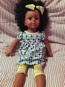 Madame Alexander African American 18 Doll With Blue And Green Clothes Rare