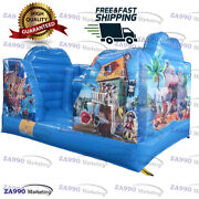 13x10ft Commercial Inflatable Bouncy House Bounce Trampoline With Air Blower