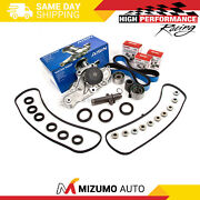 Timing Belt Kit Aisin Water Pump Valve Cover Gasket Fit Acura Honda J32a J35a