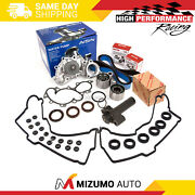 Timing Belt Kit Water Pump W/o Pipe Valve Cover Gasket Fit Toyota 3.4l 5vzfe