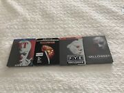 All 3 Halloween Collector's Edition Steelbooks Blu-ray And 4k And It Steelbook