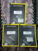John Deere 50 Series Service, Operater, And Parts Manuals