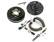 Complete Front Brake With Drum For Harley 1936 - 1957 Knuckle Ul Pan Servi-car