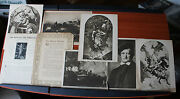 1916 Ring Of The Nibelung By Finck - 6 Prints +booklet The Mentor Dept Of Music