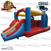 16x8.2ft Commercial Inflatable Tunnel Obstacle Bounce House With Air Blower