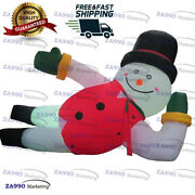 13ft Inflatable Snowman Christmas Decorations Yard Lawn Decor With Air Blower