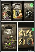 Mickey's Halloween Party Mysterious Shadow Pins 2018 Collection