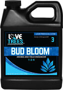 Love Trees Plant Nutrients Bud Bloom 1-2-4 Aroma And Yield Enhancer Hydroponics