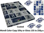 Mondi Color Copy Sra3 Silk And Gloss 45x32 135 170 200 250 Gsm Coated Silk Paper