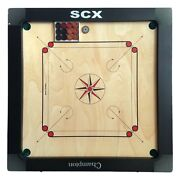 Pro Carrom Board Game Champion With Coins And Sticker Best Gift Brother