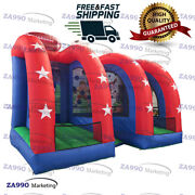 16x10ft Commercial Inflatable 3 In 1 Sport Games Carnival With Air Blower
