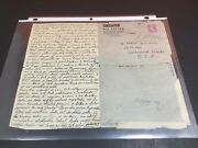 Germany 1945 Air Letter To Jewish Soldier In Czech From Refugee Missing Relative